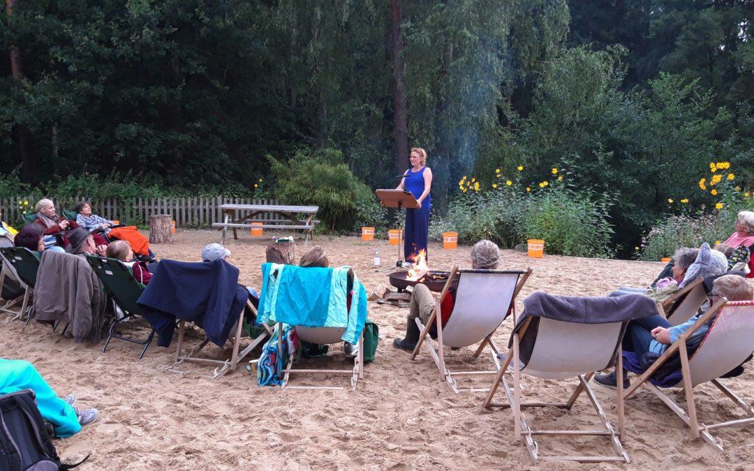 Märchenabende im Barfußpark mit Janette Rauch