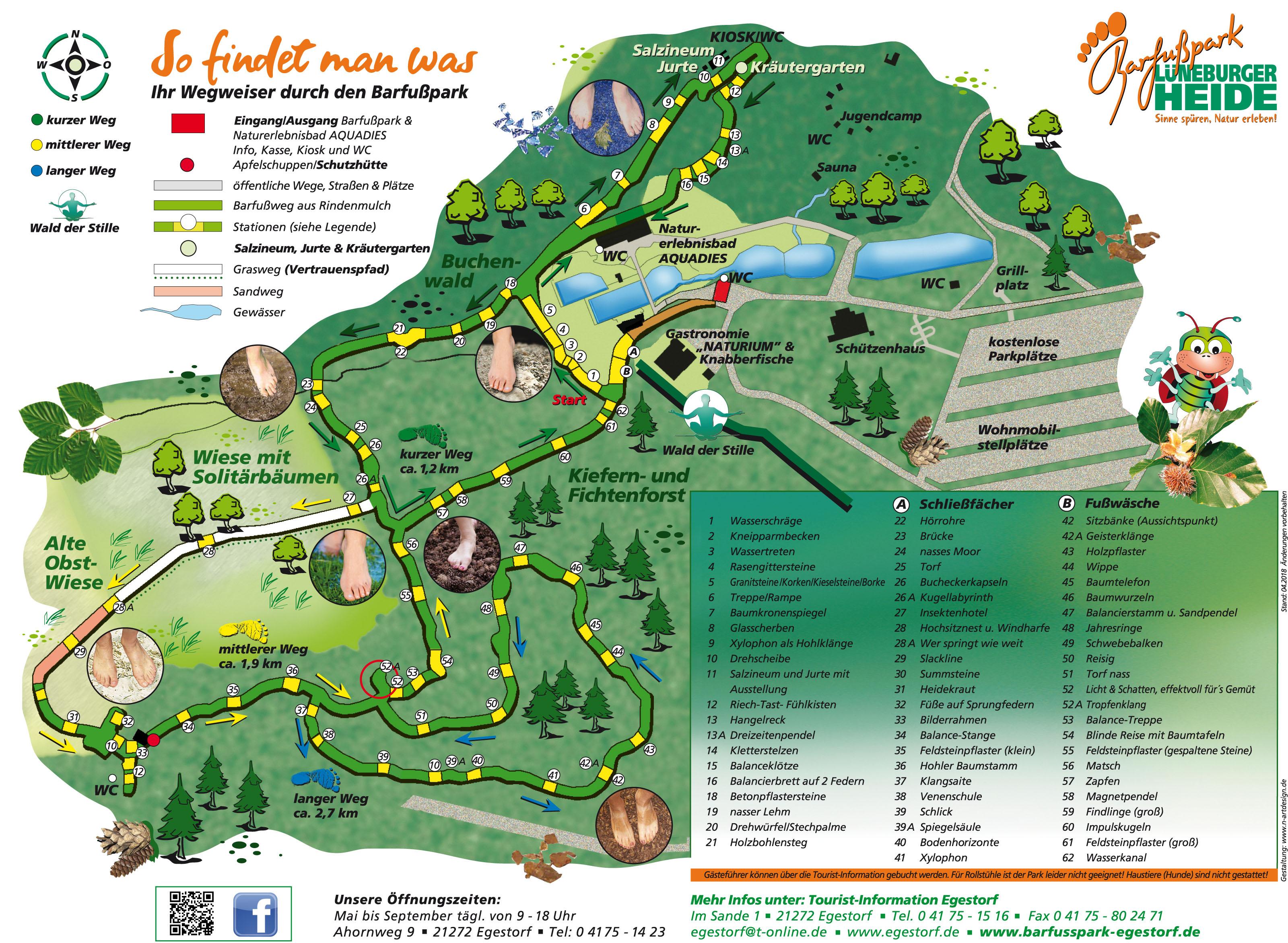 Karte Lüneburger Heide Und Umgebung.Barfusspark Lüneburger Heide Egestorf Freizeitpark Niedersachsen