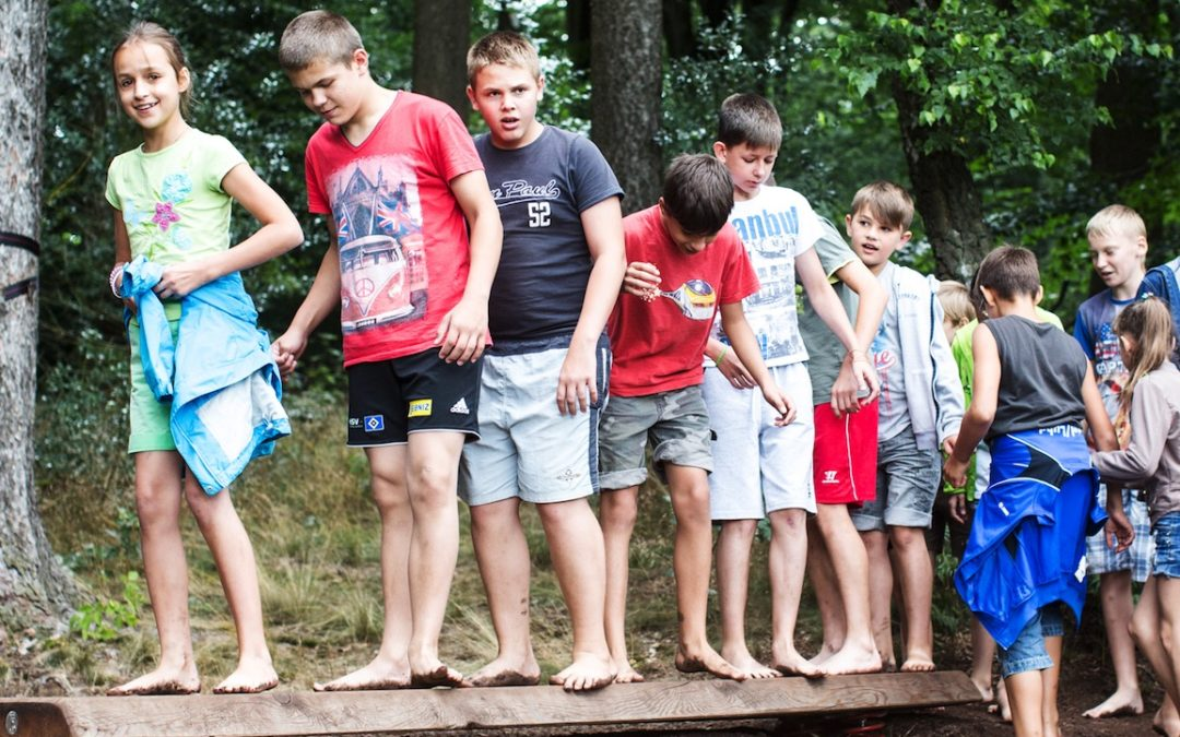 Sommerferienprogramm im Barfußpark – viel Spaß und Spannung im Juli