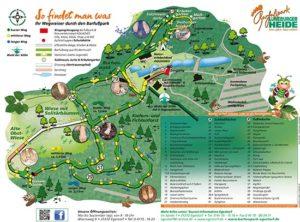 Park Plan Deutsch